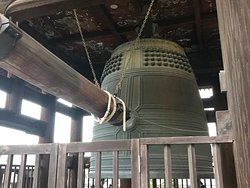 a very large bell!