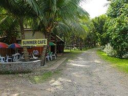 Jconfarm Summer Cafe at entrance