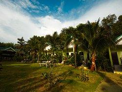 sea View resort Koh Mak Garden BBQ