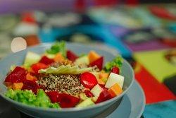Bus Stop Vegetarian Salad