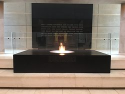 Flame at the Hall of Remembrance