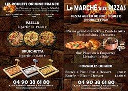 Le Marche Aux Pizzas