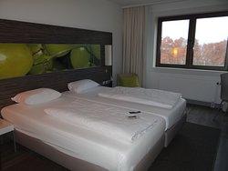 Goed hotel met relatief weinig sfeer!