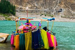 During our summer trip to Attabad lake in the heart of Hunza valley.  We offer tour services to the travelers from around the world.