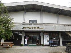 博物館別館ここに上田城関連の展示がある。