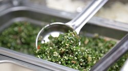 Tabouli salad.
