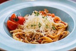 pasta with carbonara