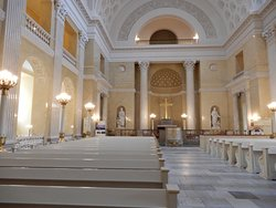 View of the altar
