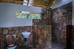 Camping ground ablution block.