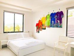 Green room (dresses room)