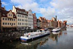 EInTeil der Altstadt am Wasser