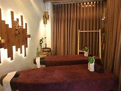Five senses spa treatment room