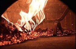 Notre four au feu de bois