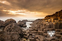 Giant's Causeway.  If you travel in a small group, the most comfortable option is a executive  mini bus. We offer high-class, air-conditioned vehicles. Travel in comfort, arrive in style  https://dmexecutiveline.ie