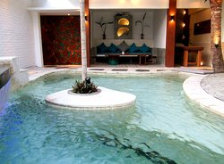 View from Pool Living and private Spa. Best Luxury Villas