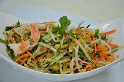 Ensalada fresca de verdura