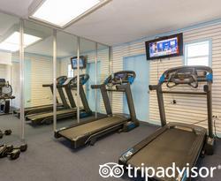 Fitness Center at the Skipjack Resort Suites & Marina