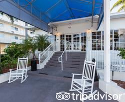 Entrance at the Skipjack Resort Suites & Marina