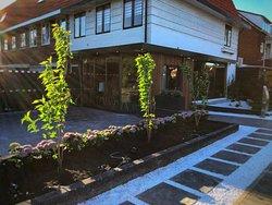 Terras en buitenkant Shouryuu Izakaya