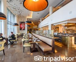 The Pad Restaurant at the Crowne Plaza London - Battersea