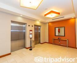 Elevators at the Hyatt Place Los Cabos
