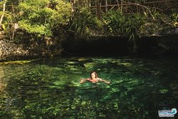 Cenote Nicte-Ha.