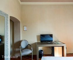 The Classic Room with View at the Hotel Villa La Palagina