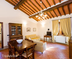 The Two Bedroom Apartment at the Hotel Villa La Palagina