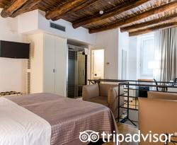 The Junior Suite at the Santa Chiara Boutique Hotel