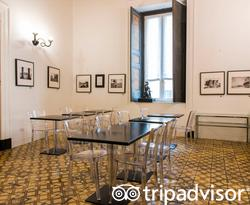 Breakfast Room at the Santa Chiara Boutique Hotel