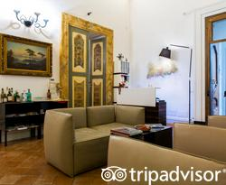 Front Desk at the Santa Chiara Boutique Hotel