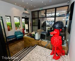 Lobby at the Cucu Hotel