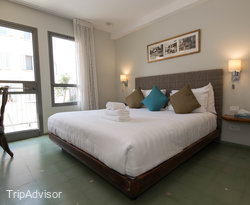 The Standard Room at the Margosa Hotel