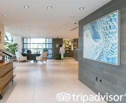 Lobby at the Zota Beach Resort
