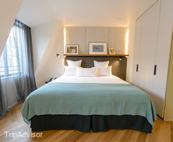 The Le Penthouse Room at the Hotel National Des Arts et Metiers