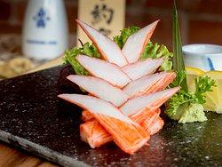 Crab Meat Sashimi