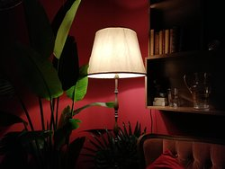 tropical corner in the events room photo by francesco de capraris