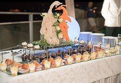 scultura sul buffet
