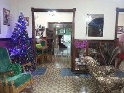 interior del hostal