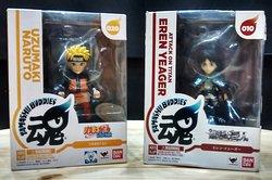 Figuras coleccionable BAN DAI originales Naruto Eren Yeager