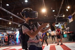 VR VOOM at Big Boys Toys 2018