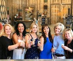 Celebrating birthdays at Peltzer Winery in Temecula, CA