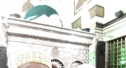 The Dome of Saiyeda Zainab a.s. tomb.