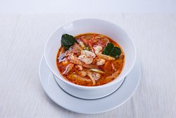 Tom Yum Goong - Thailand's famous spicy prawn soup