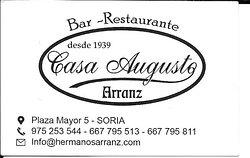Casa Augusto, SORIA 