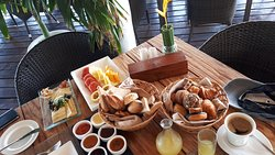 Breakfast at Jetty for Premium guests