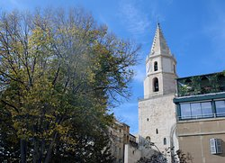One of the oldest churches in Le Panier, all that remains today is the clock tower - Marseille