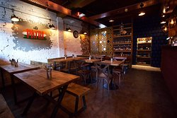 Patri Interior of Restaurant