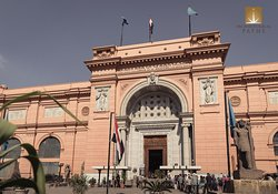 The Egyptian Museum in Cairo - one of the most important museums in the world.