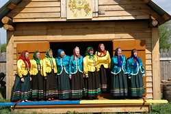 """Our tour to the old village Koptelovo is called """"The Siberian counrtyside experience"""". You can sing & dance with local babushkas here! :)"""